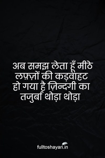 लाइफ शायरी हिंदी 2 लाइन